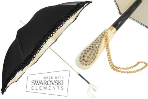 Style 410 - Ivory & Black - Handle S8 Ivory