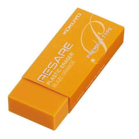 Ластик Kokuyo Resare Premium - Blaze Orange