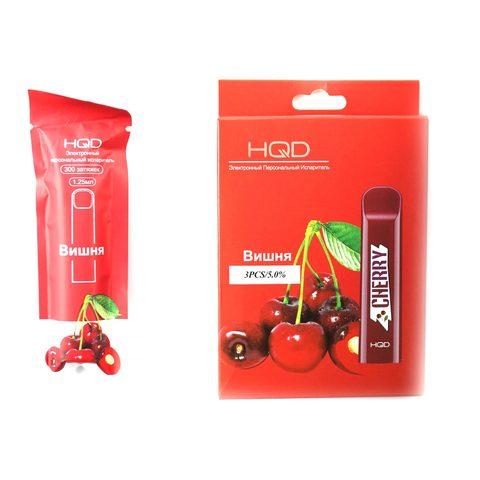 Одноразовая электронная сигарета HQD Cherry (Вишня)