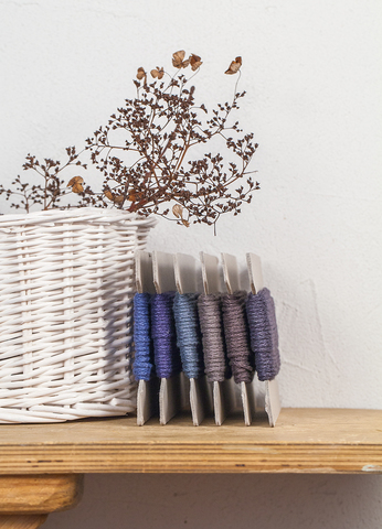 Льняной шнур 2 мм, 5 цветов