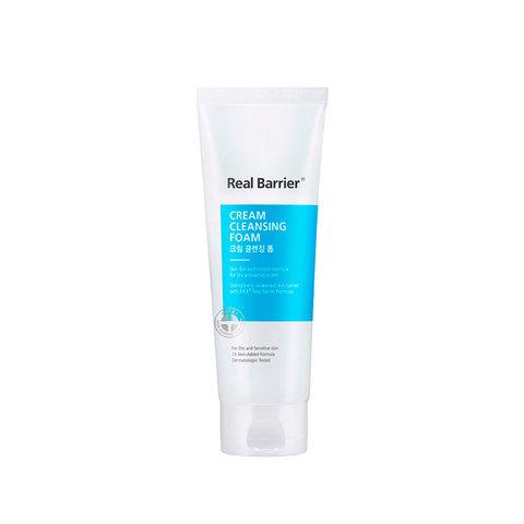 Мягкая очищающая пенка для чувствительной кожи 150мл Real Barrier Cream Cleansing Foam