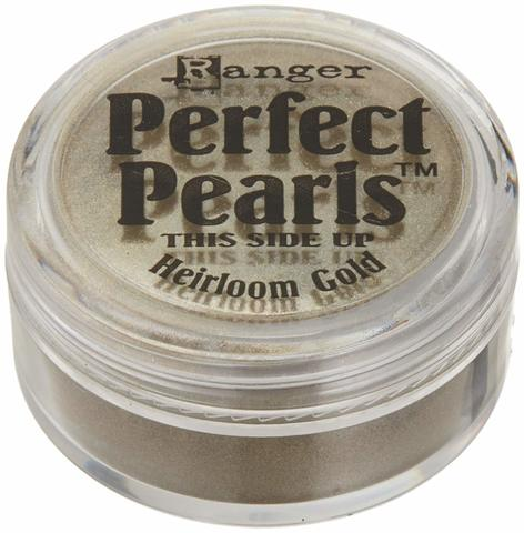 Пигментный порошок  Ranger Perfect Pearls -Heirloom Gold
