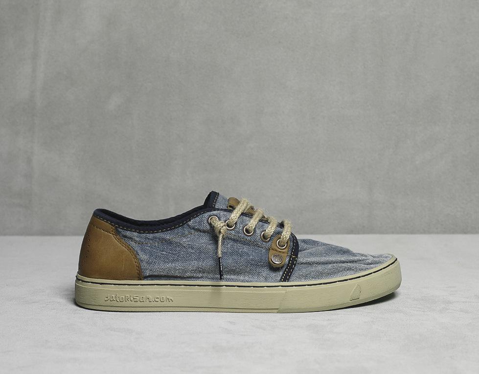 Кеды льняные Satorisan Sukkiri Linen Jeans