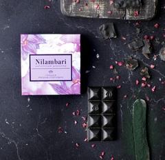 Шоколад Nilambari горький малина-спирулина, 65 г