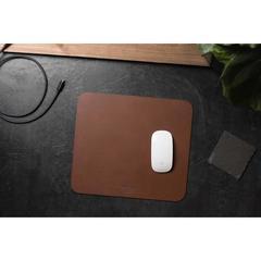 Коврик для мыши Nomad Leather Mousepad кожа натуральная, темно-коричневый