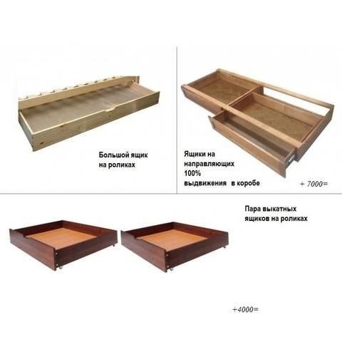 Кровать *Сатори*с ящиками