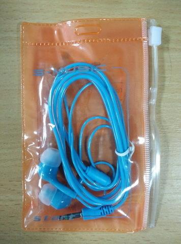 Наушники вакуумные S-Music Start CX-115 blue