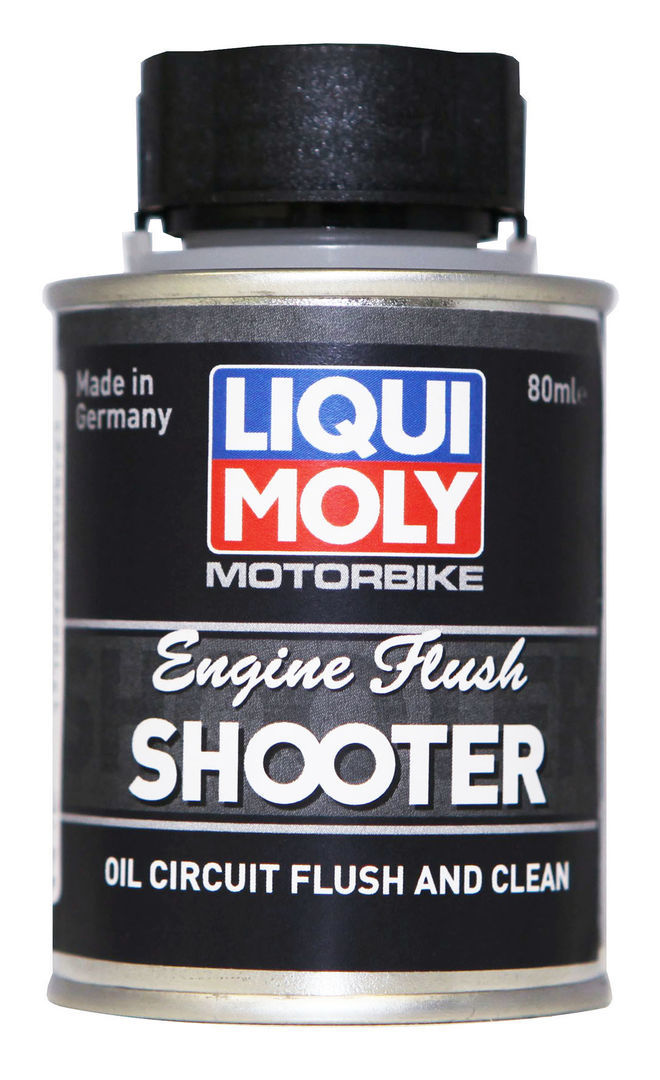 Liqui Moly Motorbike Engine Flush Shooter Промывка масляной системы мотодвигателя