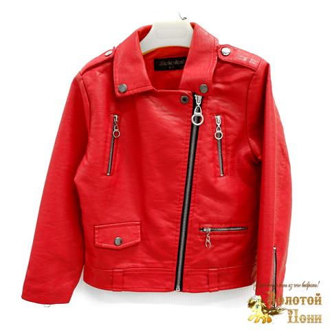 Куртка экокожа девочке (3-11) 200318-W1915.2