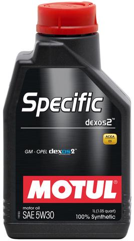 MOTUL SPECIFIC DEXOS2 5w30