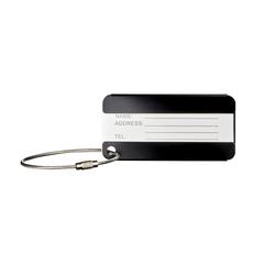 Бирка для багажа Wenger, черная, 8x0,3x4 см