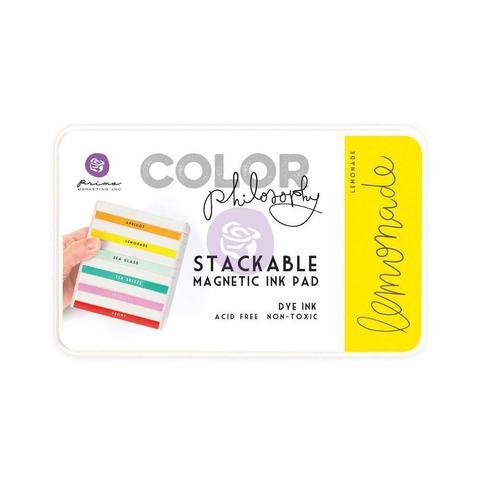 Чернильная подушечка Prima Marketing Color Philosophy Dye Ink Pad -  цвет Lemonade