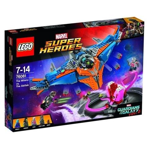 LEGO Super Heroes: Милано против Абелиска 76081 — The Milano vs. The Abilisk — Лего Супер герои Стражи галактики 2