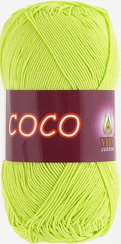 Пряжа Vita Coco 4309 салатовый