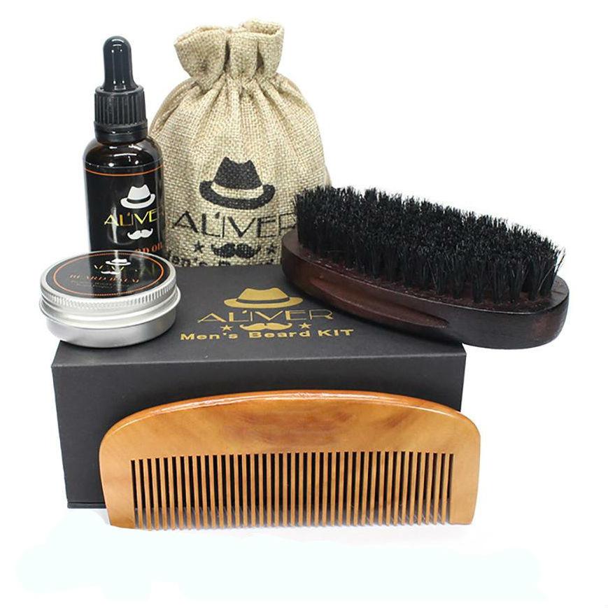 Подарки для мужчин Набор для ухода за бородой и усами ALIVER nabor_uhod_za_usami.jpg