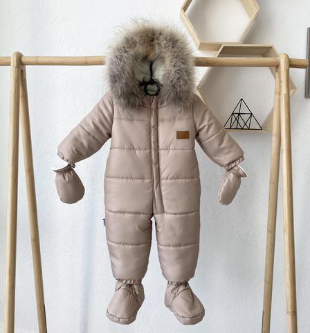 Комбинезон детский зимний Nord Star бежевый