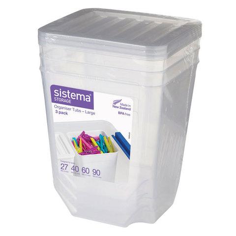 Набор органайзеров Storage, 1,8 л (3 шт.)