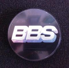 Крышка центрального отверстия BBS 56.0 мм silver/black