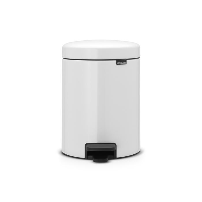 Мусорный бак newicon (5 л), Белый, арт. 112065 - фото 1