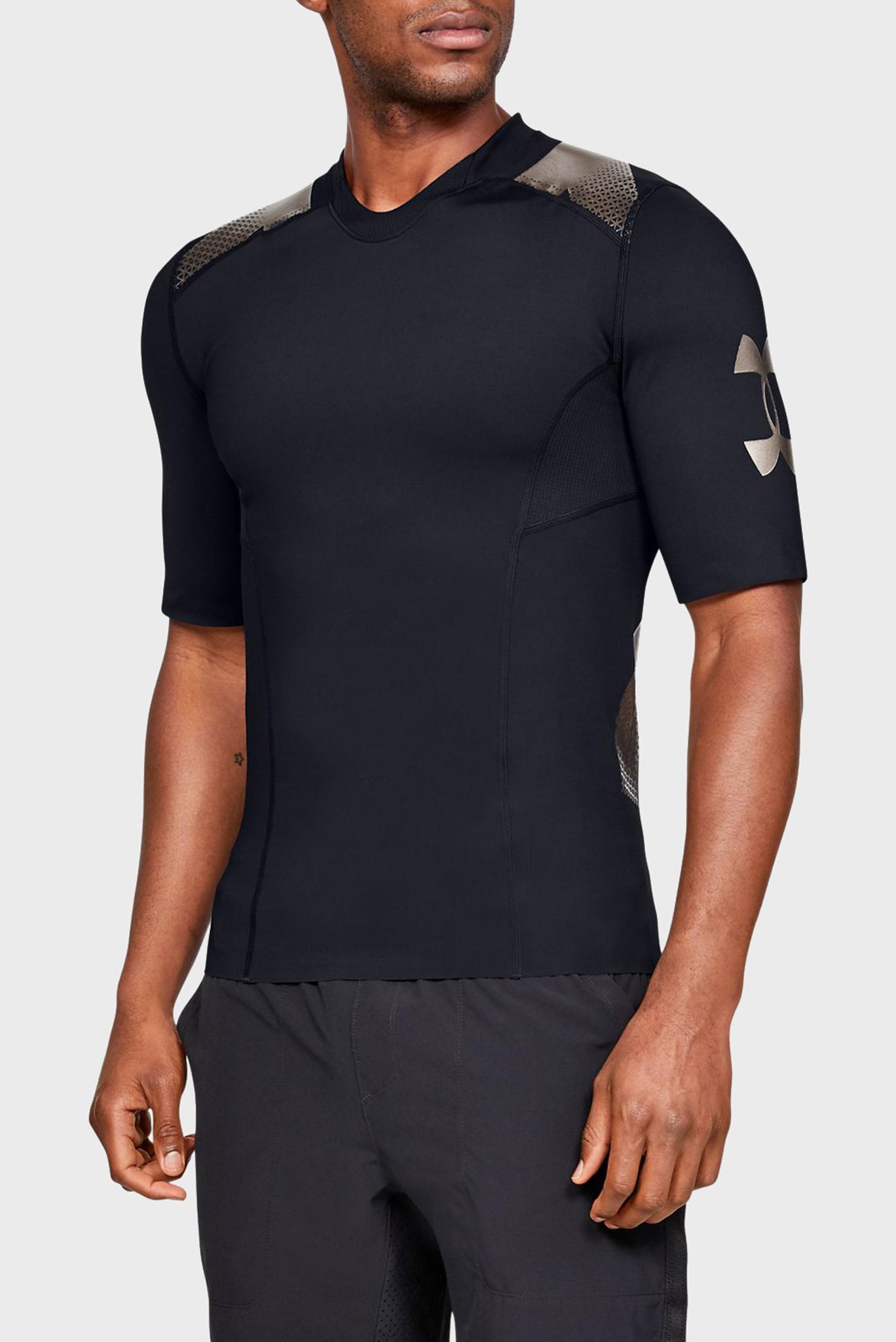Мужская черная футболка Perpetual Superbase Under Armour