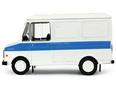 ERAZ-3730 white-blue 1:43 DeAgostini Auto Legends USSR #114