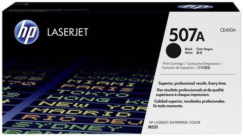 Оригинальный картридж HP CE400A (№507A), чёрный
