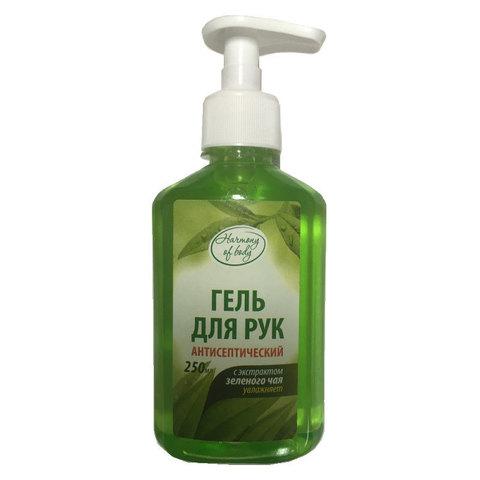 Антисептик MDC (ABAKH250) Harmony Of Body 250мл гель для рук зеленый чай дозатор