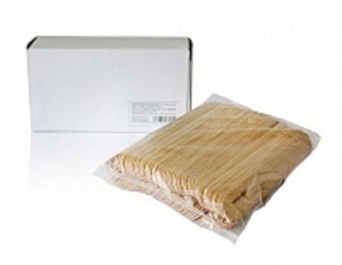 Шпатели деревянные для эпиляции Cristaline, 100 шт.