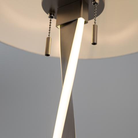 Торшер со светодиодной подсветкой арматуры 992