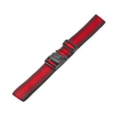 Ремень багажный Wenger, черный/красный, 101,5x1,4x5 см