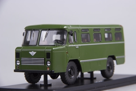 GAZ-66 AC-38 Army Bus khaki 1:43 Start Scale Models (SSM)