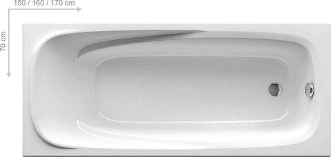 Ванна акриловая Ravak Vanda II 160X70 CP11000000