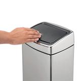 Прямоугольный мусорный бак Touch Bin (10 л), артикул 477201, производитель - Brabantia, фото 6