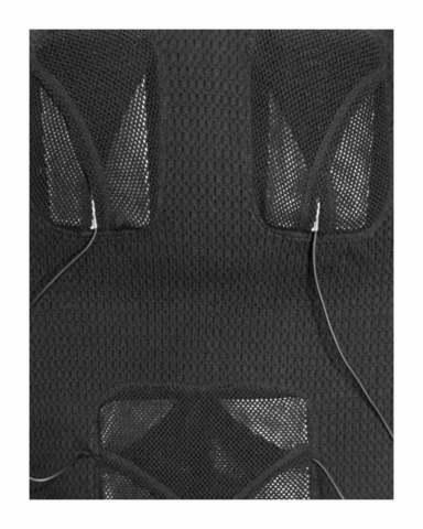 Жилет шерстяной с подогревом RedLaika Arctic Merino Wool RL-TW-04 женский черный