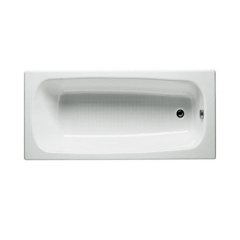 Ванна чугунная Roca (Рока) CONTINENTAL 160х70х40, прямоугольная с антискользящим покрытием
