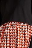 Платье для беременных и кормящих 09780 геометрия/принт