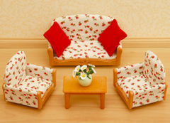 Sylvanian Families Набор мягкой мебели для гостиной (2922S)