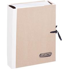 Папка архивная A4 Attache 310x80x230 (крафт/коленкор)