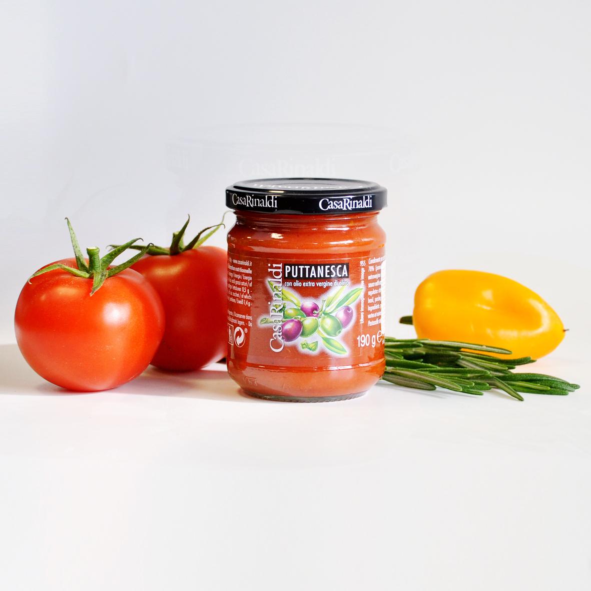 Соус Casa Rinaldi томатный Путанеска 190г