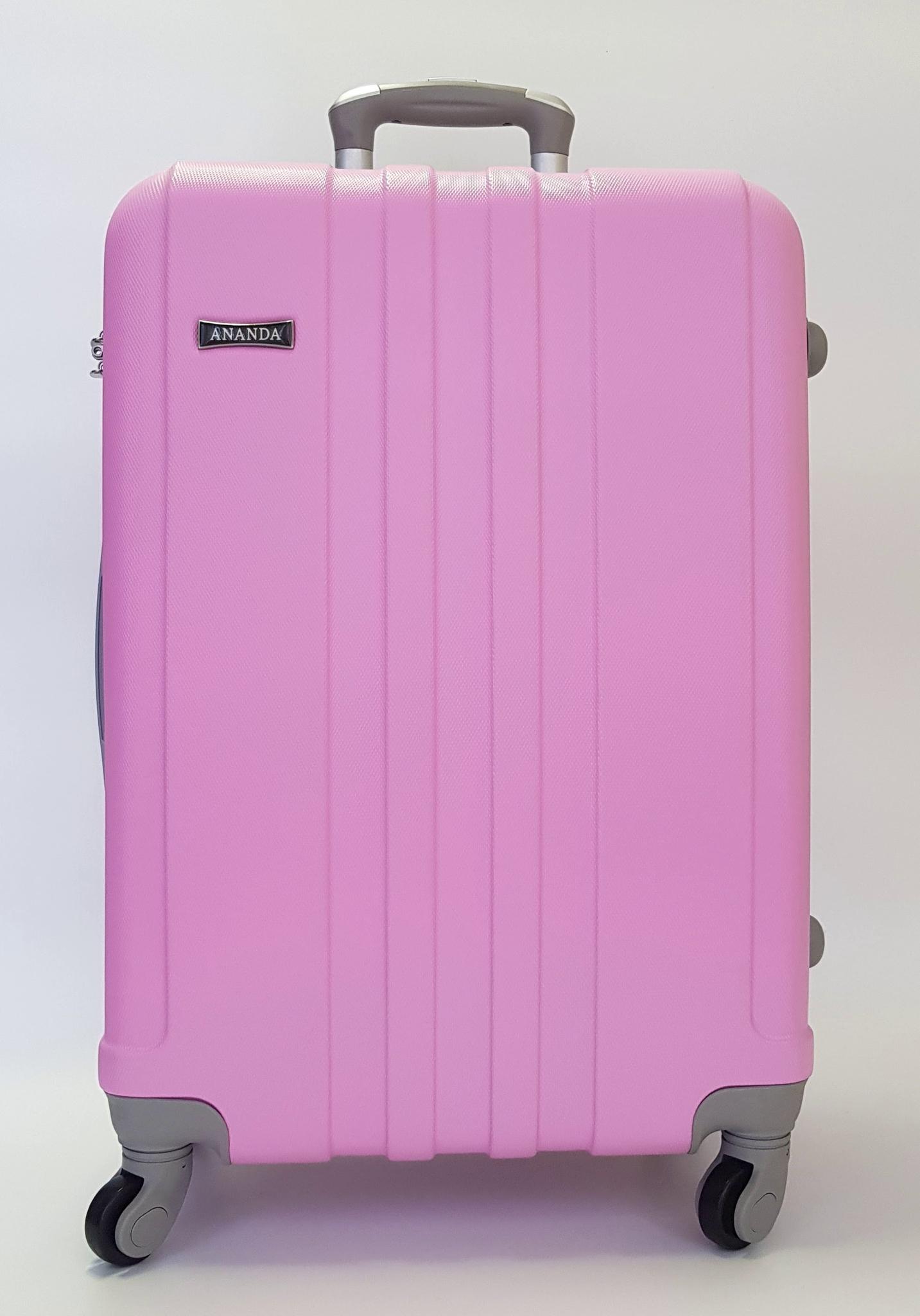 Чемодан Ananda 533 Розовый (M)