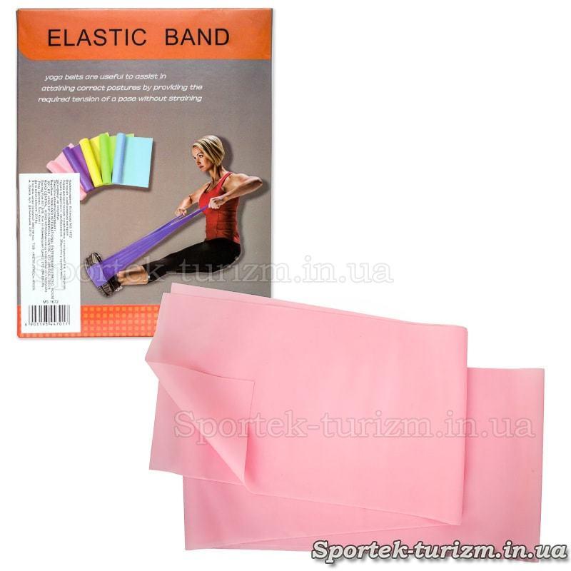 Лента эспандер (резинка) для фитнеса и спорта эластичная 1500х150мм