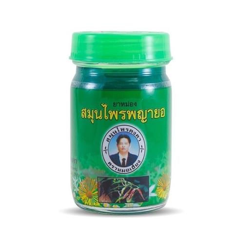 Зеленый травяной бальзам, Kongka Herb, 50мл