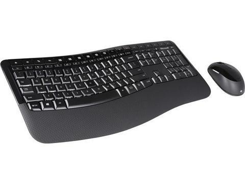 Комплект мышь + клавиатура Microsoft Wireless Comfort Desktop 5050, Black