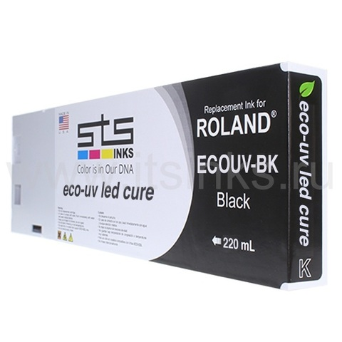 Картридж для Roland Eco - UV Black 220 мл