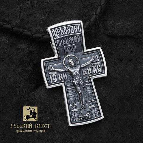 Серебряный крестик православный купить