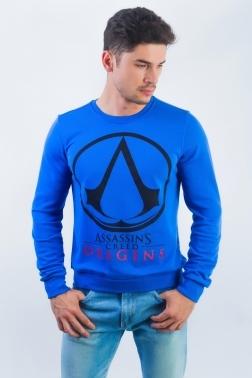 Толстовка мужская 6118 (синий)