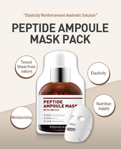 Тканевые маски с ампульной сывороткой Proud Mary Ampoule Mask Pack