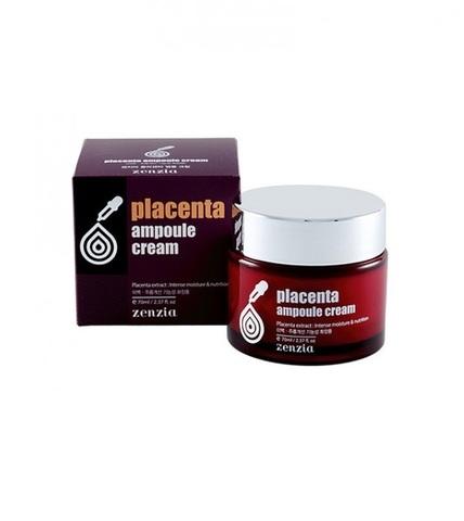 Zenzia - Крем для лица с плацентой, 70 мл