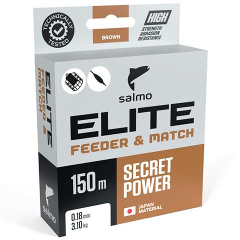 Леска монофильная Salmo Elite FEEDER & MATCH 150м, 0.18мм