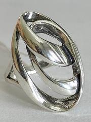Шторм (кольцо из серебра)